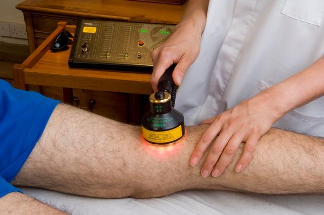 LLLT for knee injury